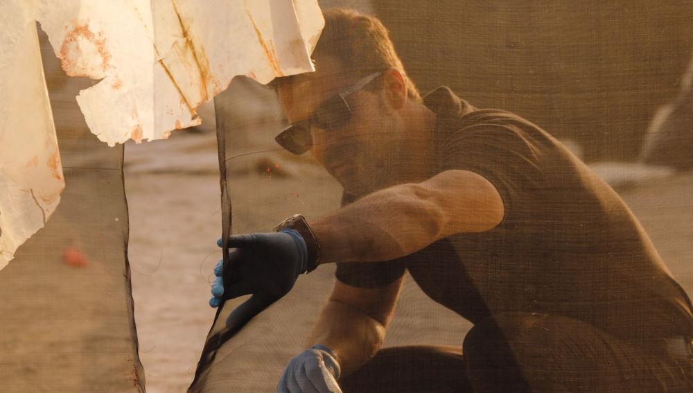 Rodolfo Sancho en 'Mar de plástico'