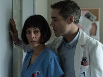 Natalia acude a Daniel Legarra preocupada por lo que la policía sabe