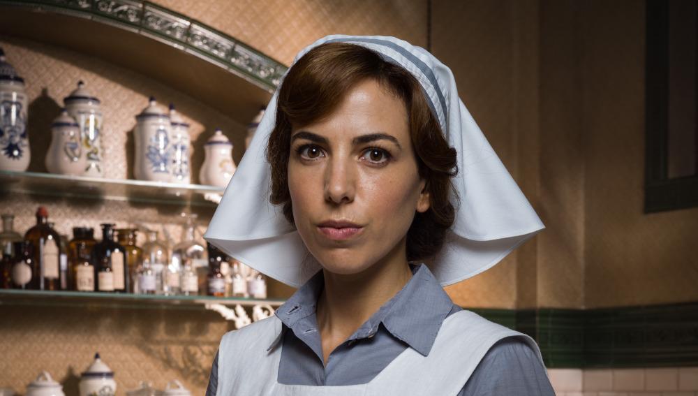 Alicia Rubio es Verónica Montellano en 'Tiempos de guerra'