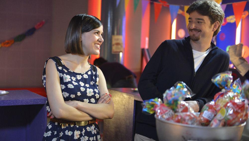 Lucía y César, en 'La Bamba'