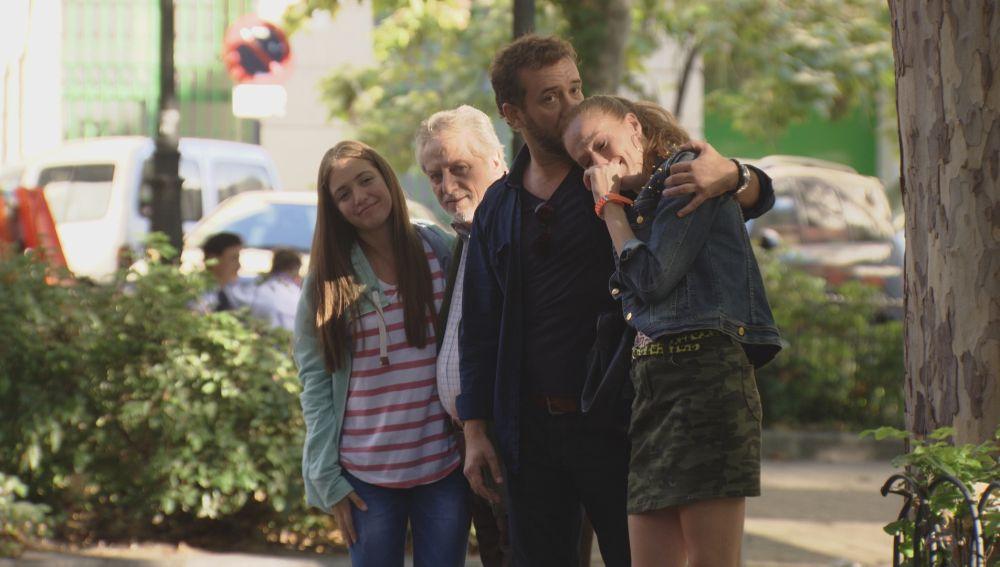 El padre de Nacho y Paula se lleva al pequeño de la familia