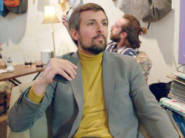 Javier Antón es Asier en 'Allí Abajo'