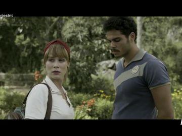 Isabel sorprende a Adalgisa con Renato en 'Si cierro los ojos ahora'