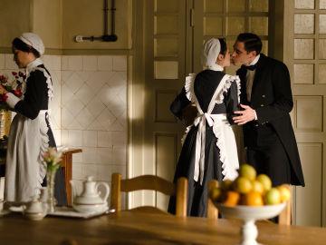 Andrés y Camila en el Gran Hotel
