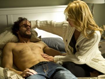 Sara decide ayudar al teniente Pando en 'Luna, el misterio de Calenda'