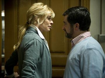 Sara se enfrenta al alcalde por las declaraciones de su mujer