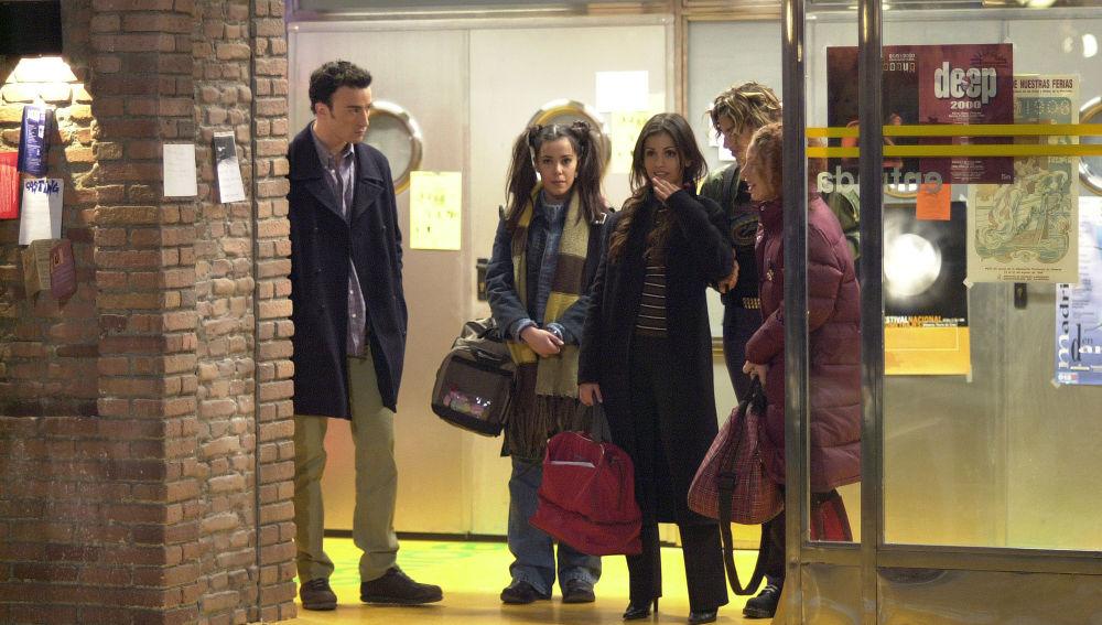 Los alumnos de 'Un Paso Adelante' llegan a la escuela