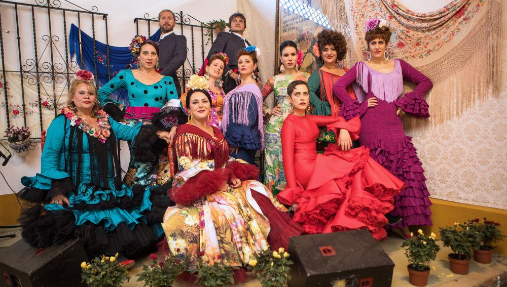 Vive la 'Feria de abril' en Atreseries