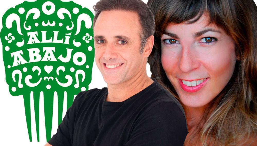 Asier Hormaza y Elisa Lledó llegan a 'Allí abajo'