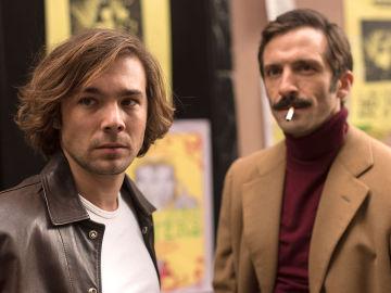 Carlos Cuevas es Rober e Iván Marcos interpreta a Guillermo en '45 Revoluciones'