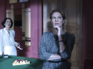 Angela, contra las cuerdas en 'La fiesta'