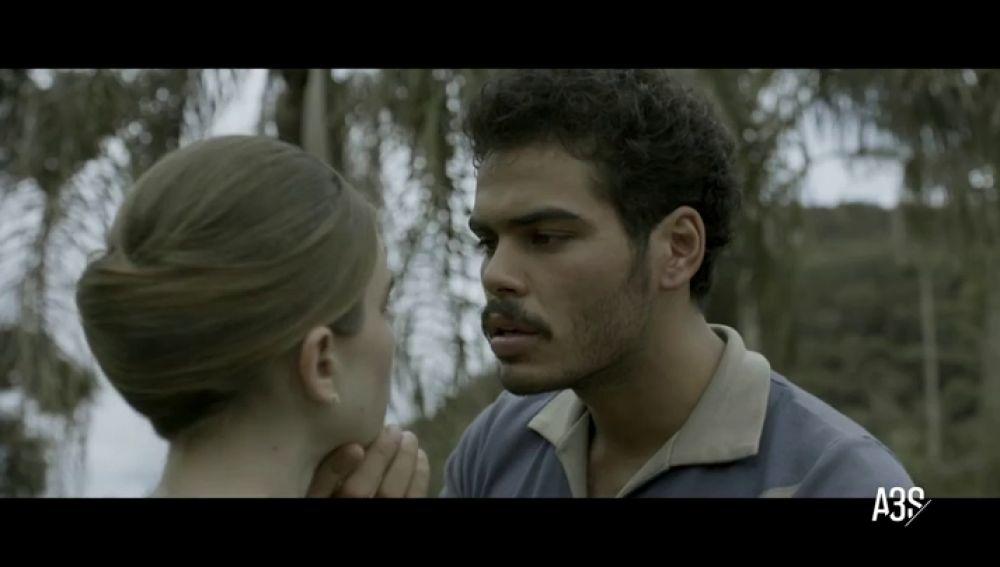 """Renato agrede a Urbiratán y Cecilia sufre un accidente en """"Si cierro los ojos ahora"""""""